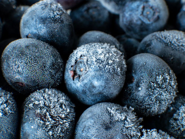 Healthy Breakfast: Close up of frozen blueberries, macro shot, top view Blueberry Breakfast Frozen Food Vegan Fruit Antioxidant Food And Drink Food Full Frame Close-up Freshness Backgrounds No People Wellbeing Indoors  Healthy Eating Large Group Of Objects Berry Fruit Abundance Still Life Selective Focus Textured  Heap Detail Temptation