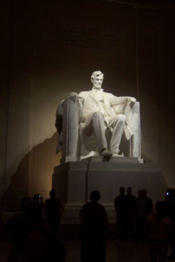 History Indoors  Lincoln Memorial President Sculpture Statue United States History Washington D.C.