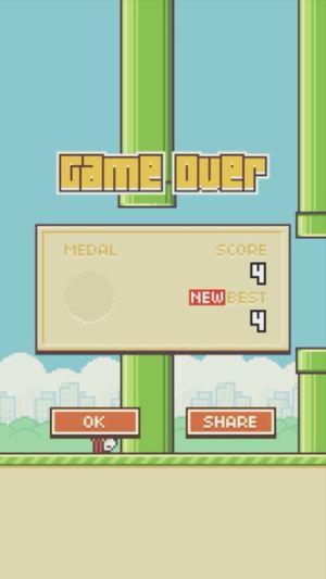 Có cố gắng :) Flappy Bird