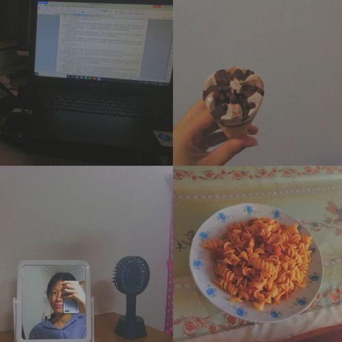 summer holiday Selfile  Icecream Computer Portrait Sweet Food Prepared Food