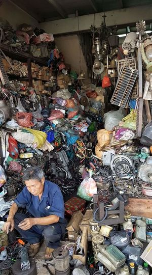 Large Group Of Objects Indoors  Day One Person Thailnd Thai Abundance Business Finance And Industry Choice Business No People