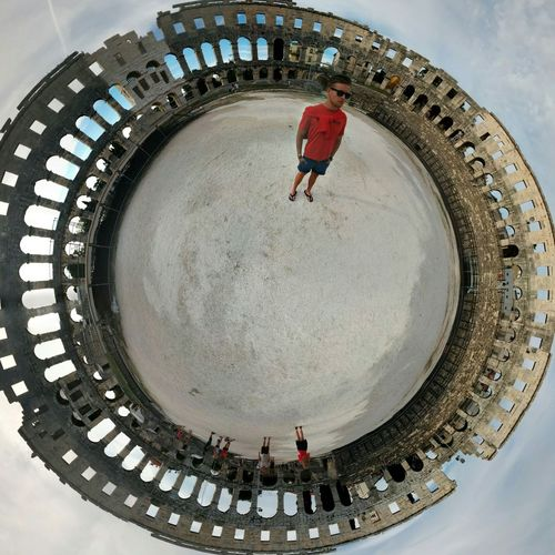 somtimes I hang out in amphitheaters Self Portrait Architecture 360 Romansbuiltepicshit