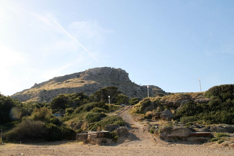 Beauty In Nature Landscape Mountain Nature No People Path Pathway Rhodes Ródos Scenics Sommergefühle