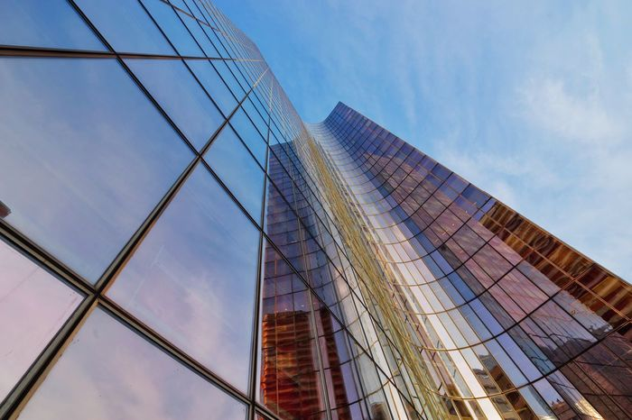 Paris, la défense La Défense Paris La Defense Lookingup Architecture Rustlord_archdesign SONY A7ii Sonyalpha