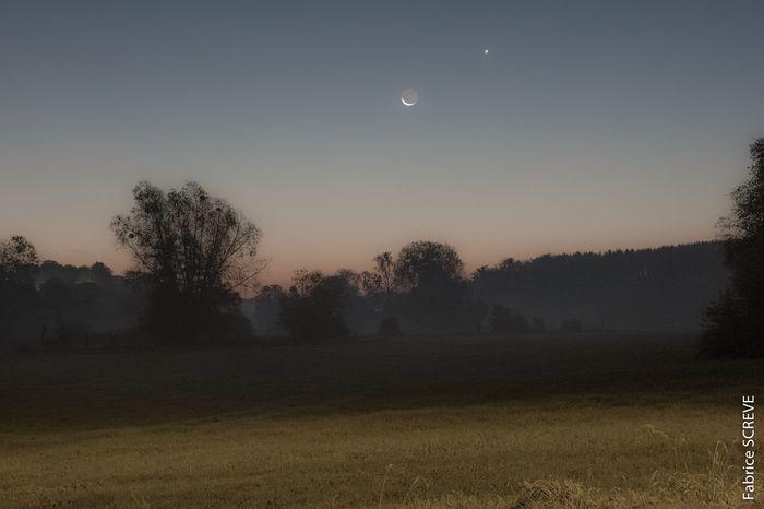 Moon Landscape Night Astronomy Belgium. Belgique. Belgie. Belgien. Etc. Venus Tranquility Lune EyeEmNewHere