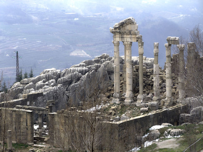 My lebanon Ancient Civilization Ancient History Archaeology Architectural Column Architecture Built Structure City Day Faqra Lebanon History No People Old Ruin Outdoors Romain  Romain Ruins Sky Travel Destinations
