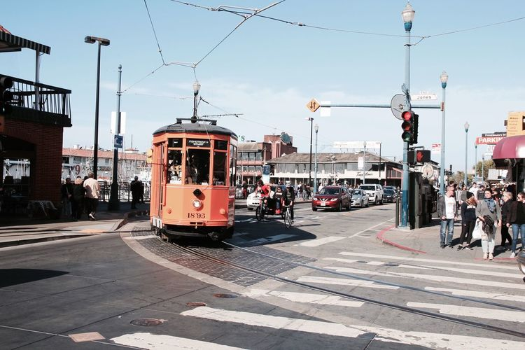 The Street Photographer - 2017 EyeEm Awards San Francisco Cable Car Leisure