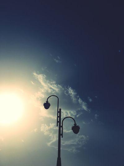 Streetlamp Streetphotography Summersky