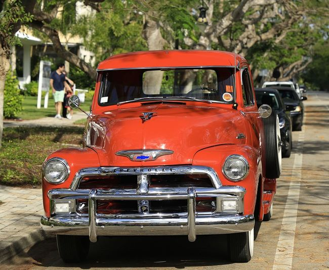 A smooth ride! Mode Of Transport Classic Car Classic Truck Antique Car Antique Truck Historic Vehicle Land Vehicle Outdoors Day Adult People
