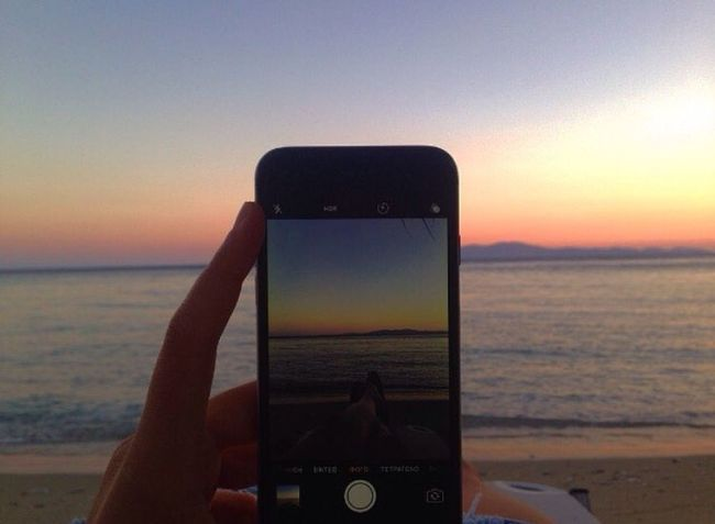 May paradise looks like this Greekislands Greekbeauty Sky Sunset