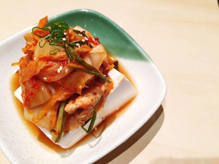 Kimchi Toufu Japanese Food Toufu Fine Dining Ready-to-eat Healthy Food
