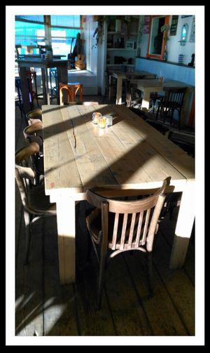 Amsterrdam Beach Chair Day IJmuiden Indoors  No People Shadow Sun Table