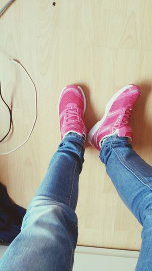 New Shoes Love It Pink Life Gym
