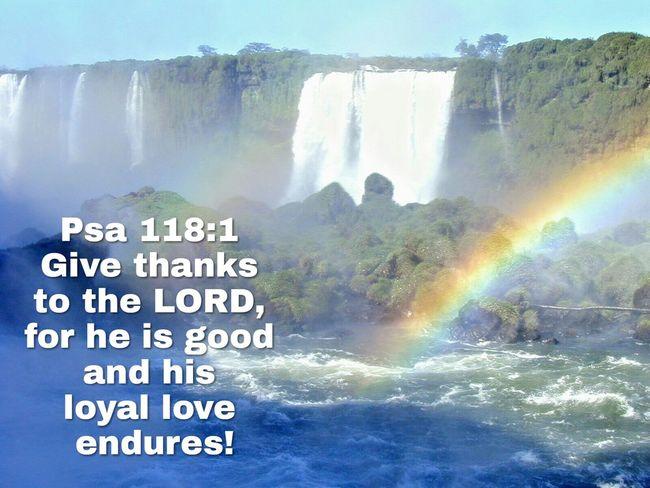 Water Waterfall PraiseGod Bible Verses GodIsGood Raibow