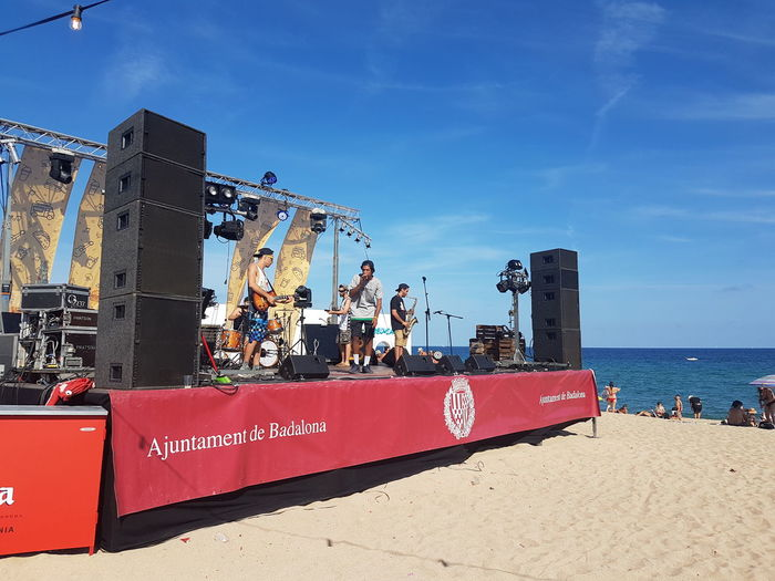Reggae♥ Dub Beach Music Badalona Outdoors Band Music Live Music Cool Sounds Sunshine Street Photography