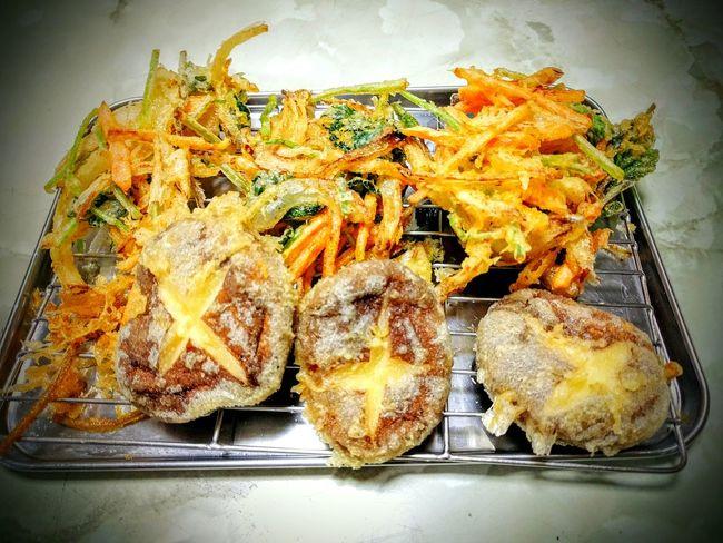 かき揚げ Japanese Soul Food Tenpura I Made It  Cooking Enjoying Life