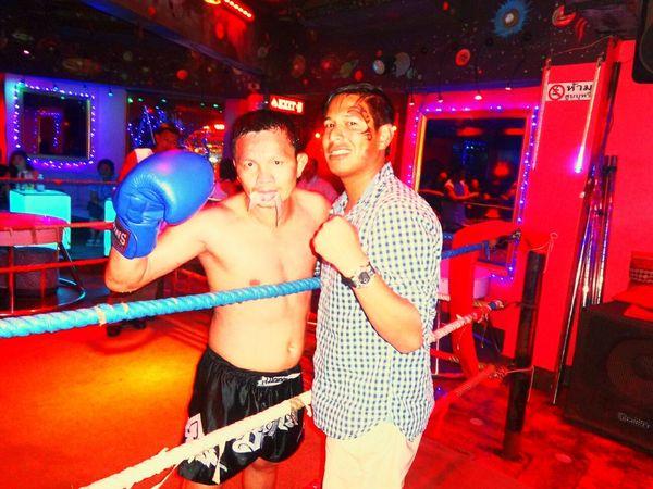 One Night in Bangkok Bangkok Thailand. Muay Thai