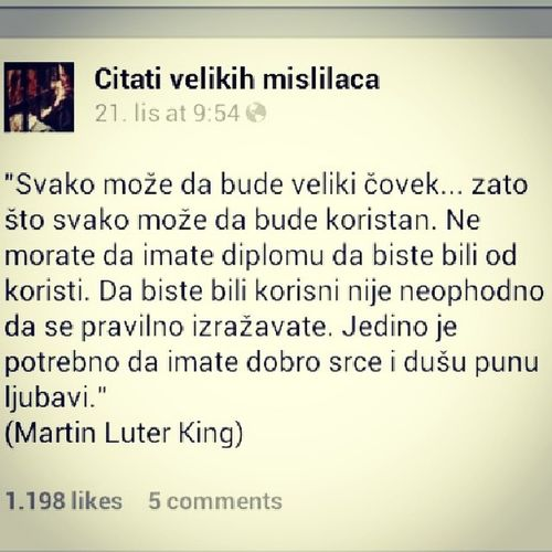 Qoutes Martin Luther King Citati