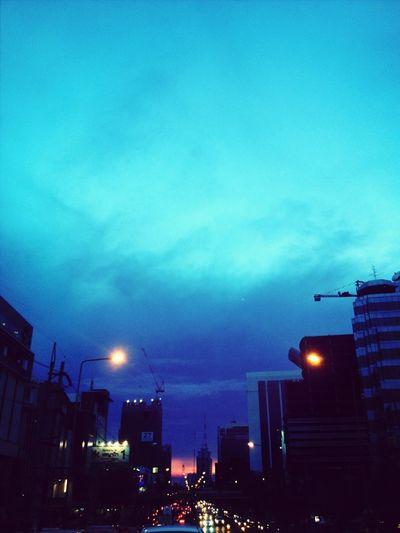 Last Light Friday Evening