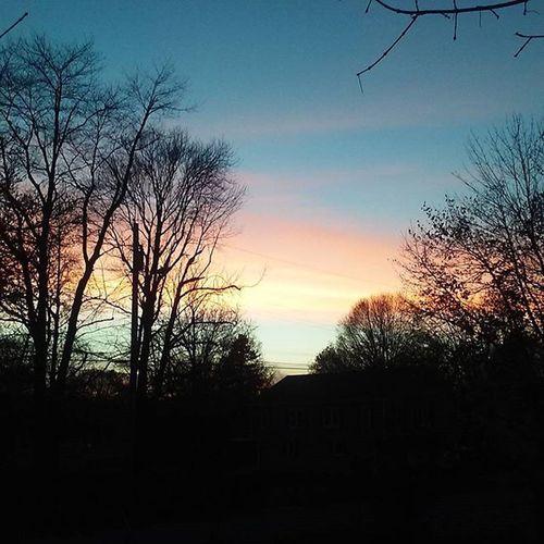 Fall sunset, Stony Point NY. FallinNY Absentfriends
