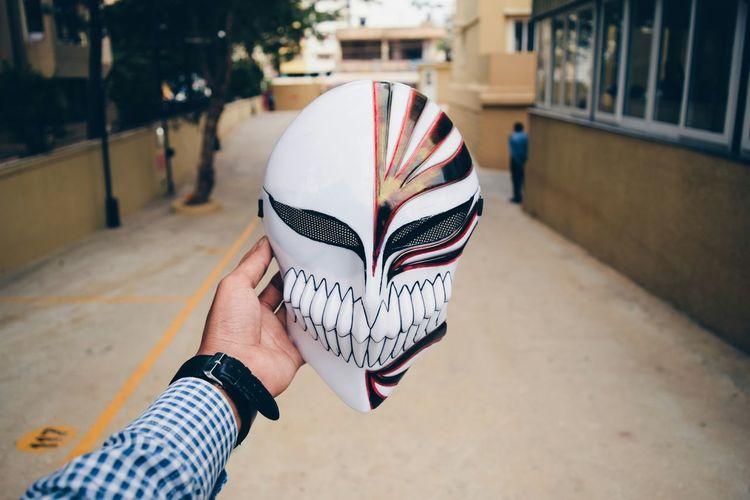 Anime Mask Ichigo Popular Photos Taking Photos Handinframe Face
