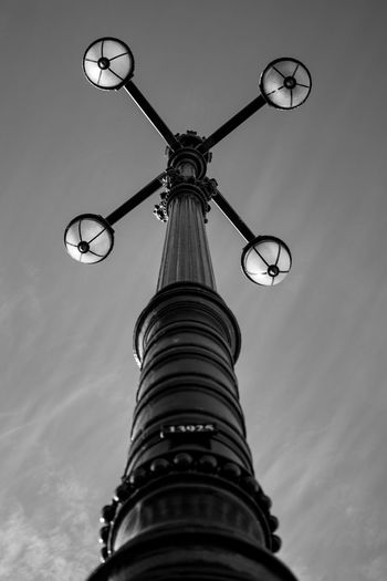 Lisbon street lights Architecture Built Structure Day Directly Below Electric Lamp Lighting Equipment Low Angle View No People Outdoors Street Light Tall - High