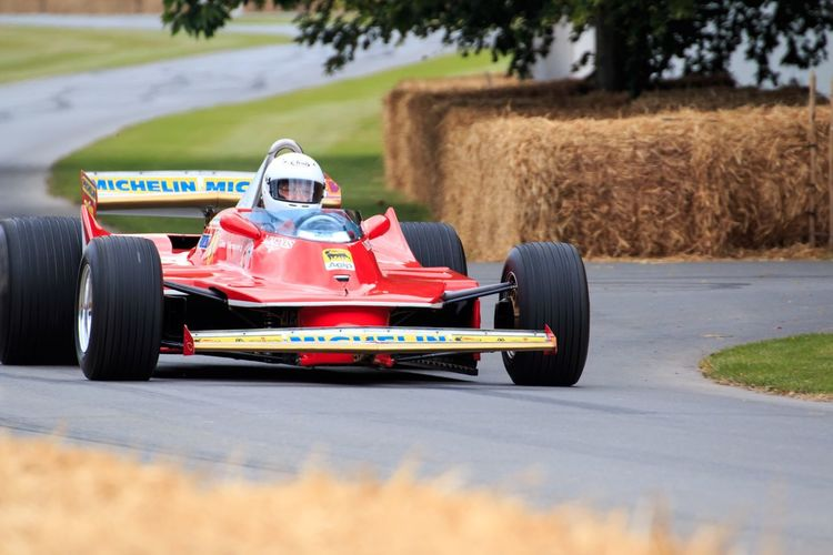 One of the most stunning F1 cars ever. Ferrari GoodWood Fos