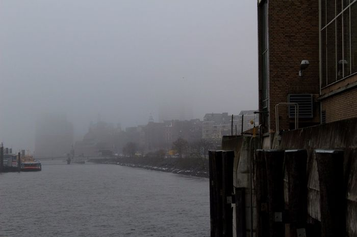 Hamburg Hafen, im Nebel. First Eyeem Photo