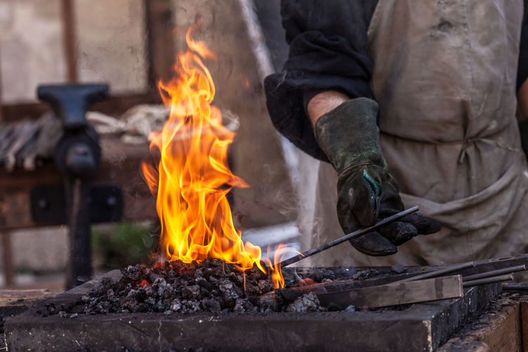 Blacksmith  Embers Flame Flames Flames & Fire Pit Swordsmith