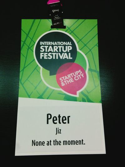 My International Startup Festival ticket