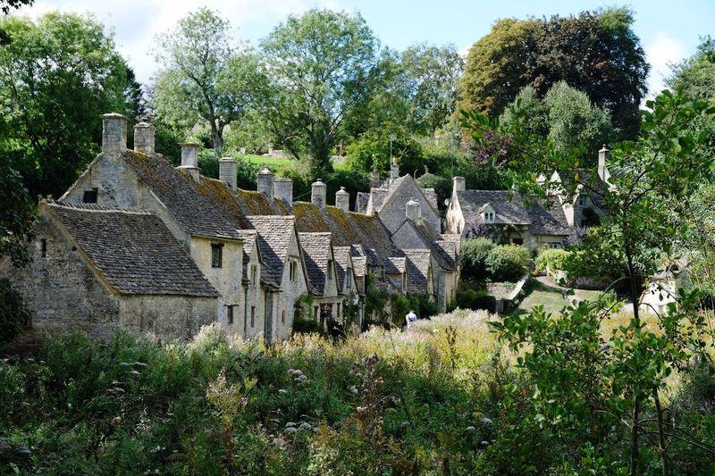 Bibury houses