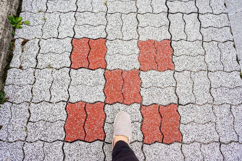 Low Section Street Human Leg Shoe Human Body Part Road Day Outdoors South Korea