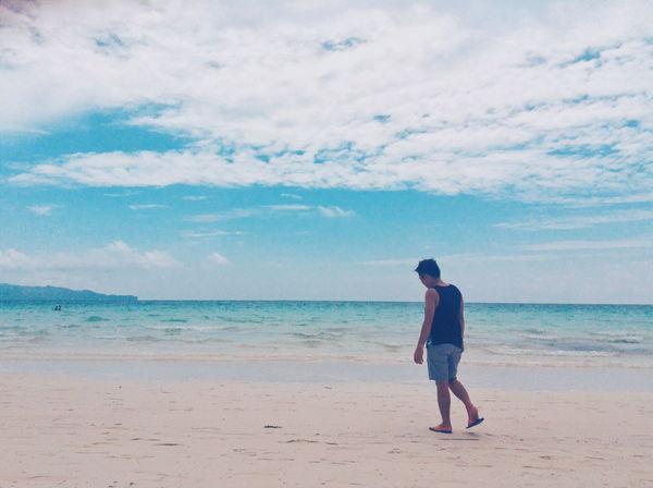 Boracay Alone.. Boracay Philippines First Eyeem Photo