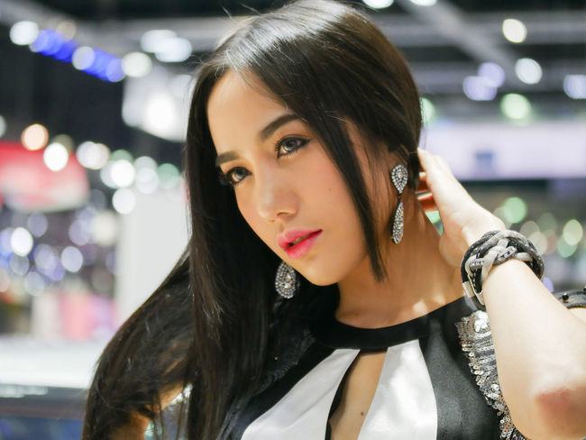 dec.3 2017 motor expo thailand 2017impact chllenger Beautiful Woman Close-up Headshot Illuminated Leisure Activity Motor Expo One Person People Pretty Pretty Girl Real People Young Adult Young Woman Young Women Young Women Style