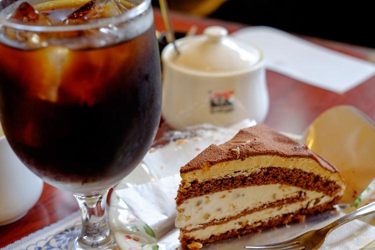 ズゴット Cake Food Fujifilm Fujifilm X-E2 Fujifilm_xseries Gourmet Iced Coffee Japan Japan Photography Meal Ready-to-eat Sweet Food Xf35mm アイスコーヒー カフェ ケーキ コーヒーハウスデリカップ ズゴット 喫茶店 日本 錦糸町 錦糸町駅