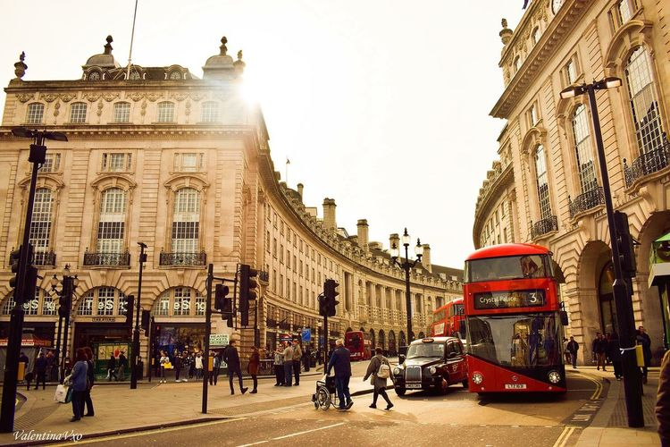 Piccadilly Circus Architecture Built Structure Building Exterior City People London Architecture Travel Destinations