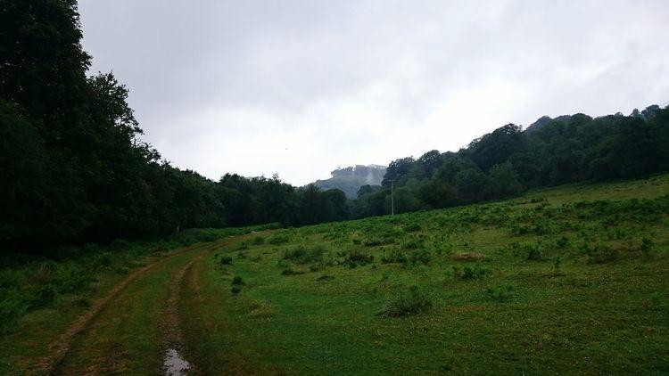 Castle Drogo Landscape Clouds Greenary