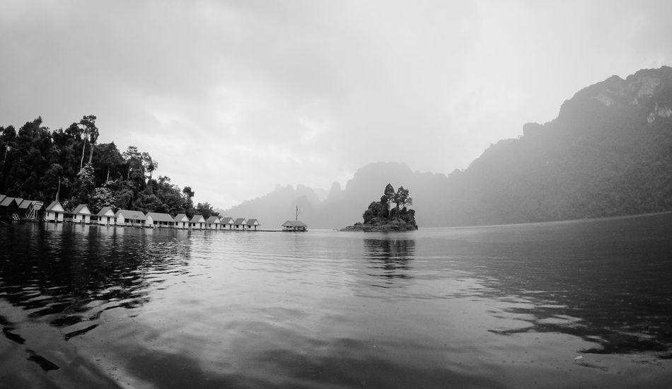 Backpacking Khao Sok National Park Nature Rain Thailand Intothewild Lake Landscape Water Lost In The Landscape EyeEmNewHere