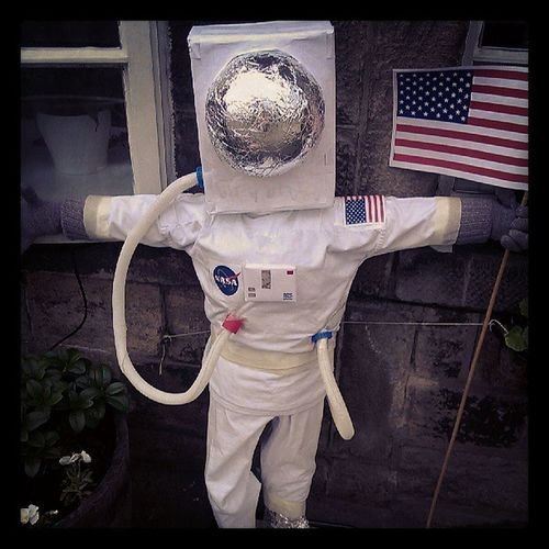 Menston Scarecrow Astronaut