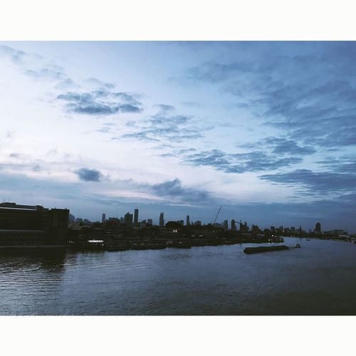 Chaopraya River Architecture Water River Cloud - Sky Building Exterior Built Structure Outdoors
