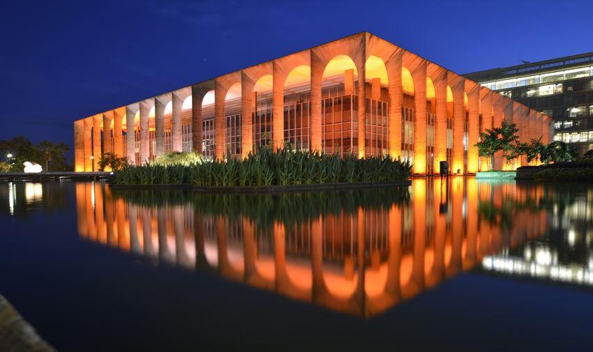 Palácio do Itamaraty - Palace Brasil ♥ Brasília Mirror Reflection Reflexo  Espelho