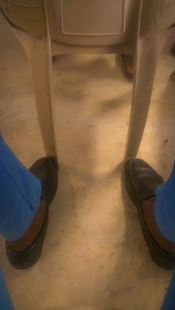 leather shoe and blue chino Outing Sunday Afternoon Check This Out Hello World Enjoying Life EyeEm Gallery Eyeem Nigeria Church Time Church Blue Legsselfie Leg Black Shoes Summer