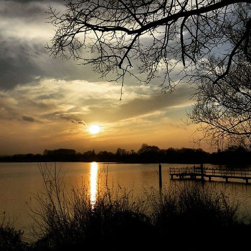 Hold your breath and enjoy life! Sunsets Uckersee  Enjoy Life Loveit