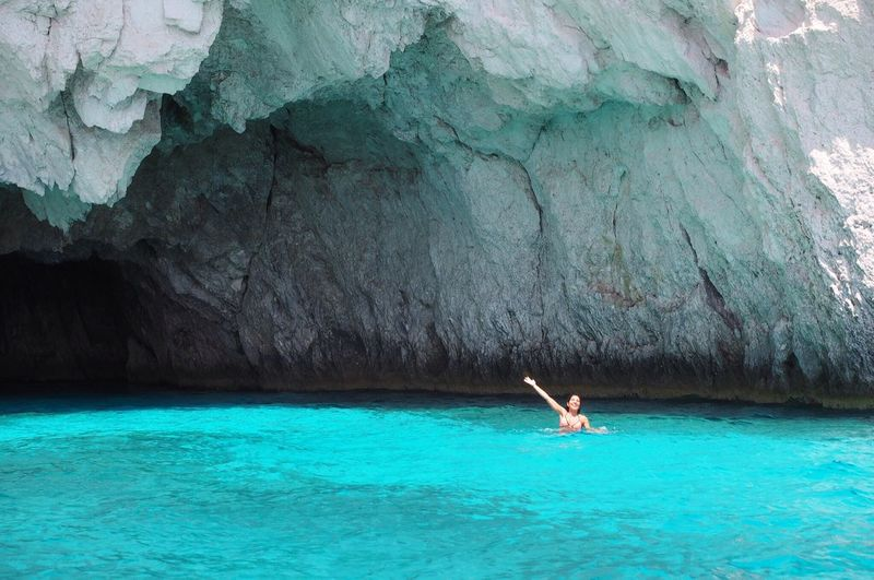 Check This Out That's Me :) Zante Zakynthos,Greece Caves No Filter I'll Be Back