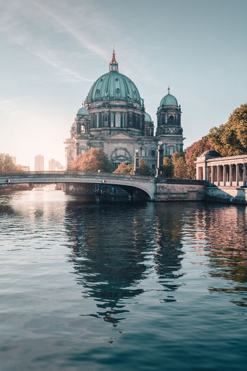 Berliner Dom | Berlin, Germany 2016 Autumn In Berlin Autumn In The City Autumn Views Berlin Berlin Cathedral Berlin Sightseeing Berlin Travel Berliner Ansichten Capital Cities  Colors Of Autumn Copy Space Germany I Love Berlin Morning Light Outdoors Sunlight Travel To Berlin Urban Icon The Traveler - 2018 EyeEm Awards