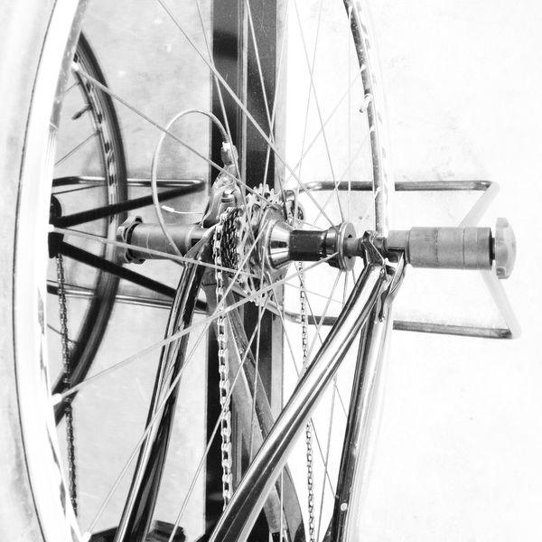 Bikecycle Blackandwhite Bangkok