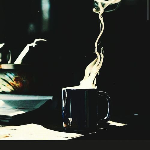 Good Morning Up Early A Little Sunshine Creeps In Fresh Coffee Taking It In Time To Get A Move On