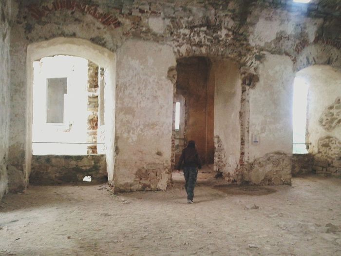 Indoors  Window Old Ruin Abandoned One Person Adult Architecture Built Structure Women Full Length Day One Woman Only Adults Only People Castle In The Poland Krzyżtopór Castle Castle Ruin Castle Poland Poland Is Beautiful Arch Darkness And Light Full Of Memories Mistery Atmosphere Indoors
