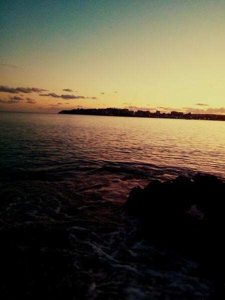 Sunset Sunset Horizon Over Water Water 🍁🍂autumn Tranquility Nature