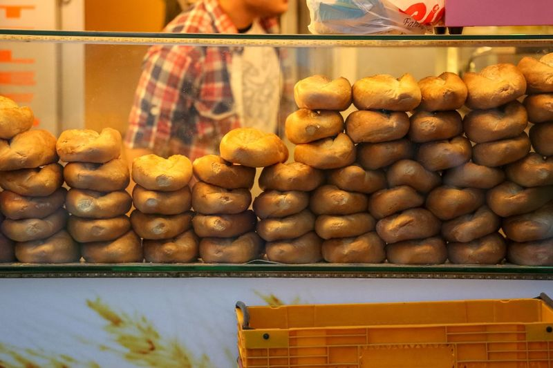 Fresh baked rolls for sale Food And Drink Food Freshness Large Group Of Objects Retail  Store For Sale Small Business Abundance Business Arrangement Bakery No People Retail Display Choice Stack Order Market Indoors